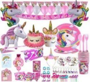 Unicorn Theme Party Supplies