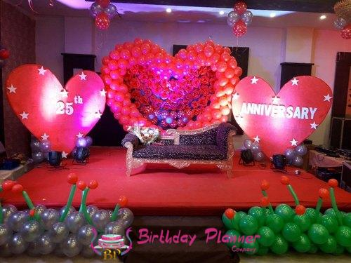 See Red Theme Party PLanner