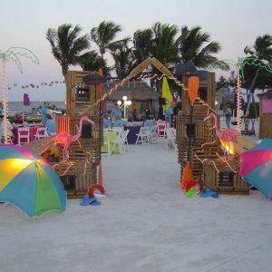 Backyard Beach Theme