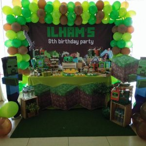 Minecraft Party Theme