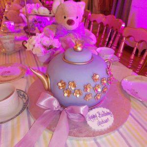 Teddy tea theme