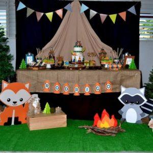 Woodland theme