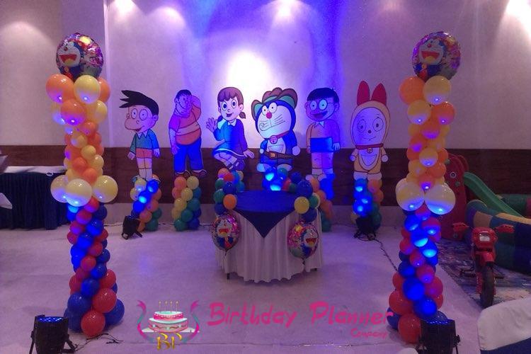 Doraemon Theme Party ideas in Delh