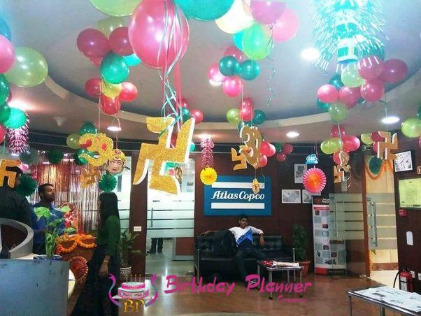 Diwali Balloon Decor