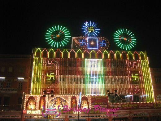 Light Decor For Diwali