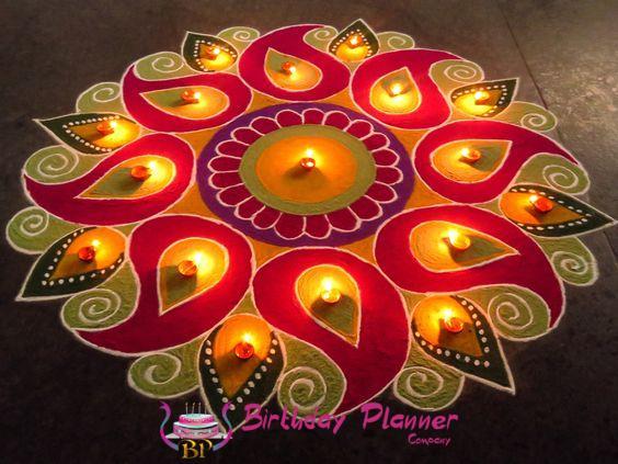 Diwali Rangoli Decor