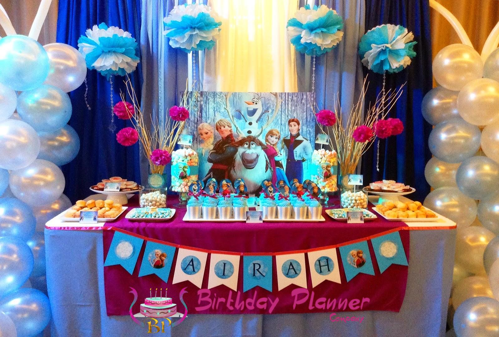 Frozen Theme Party Planner | Decoration | Birthday Organizer in Delhi