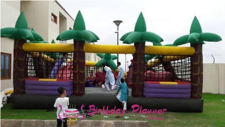 Jungle Bouncy On Rent In Delhi