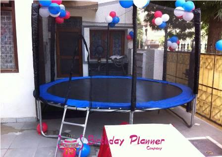 Trampoline On Rent In Delhi