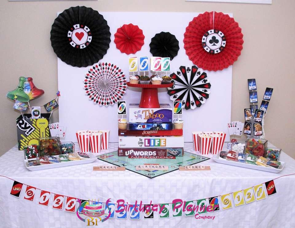 game night, game night party, game night party ideas, party planner