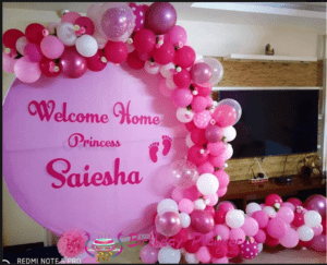 Baby Welcome Party Decoration Ideas in Delhi NCR, Faridabad, Noida