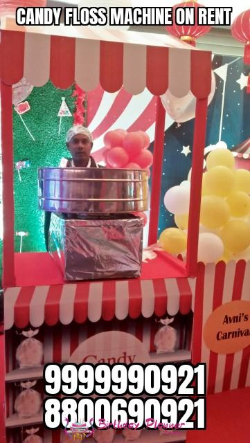 Candy Floss On Rent