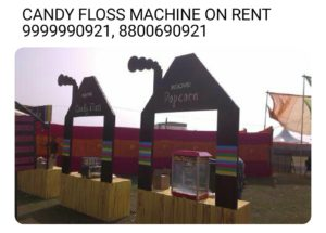Planning To Hire Candy Floss Machine On Rent For Parties And Events?