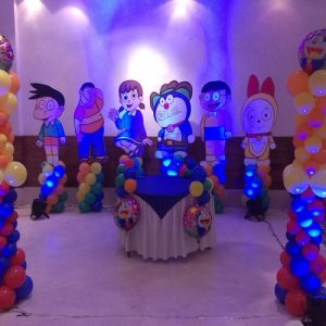 Doraemon Theme Party ideas in Delh