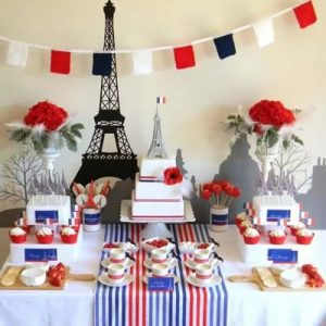 A French theme