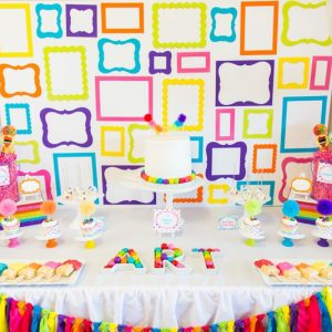 Art Party Theme