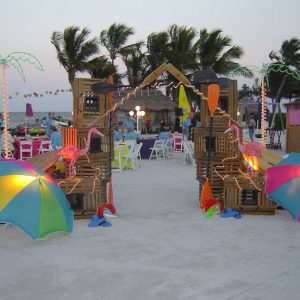 Backyard Beach Theme