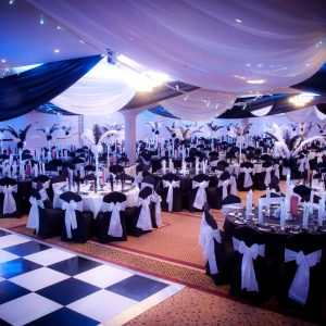 Black and White Ball Theme