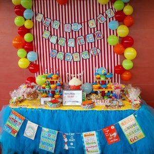 Dr. Seuss Theme Party