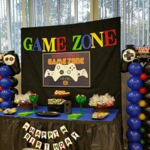 Gamer zone theme