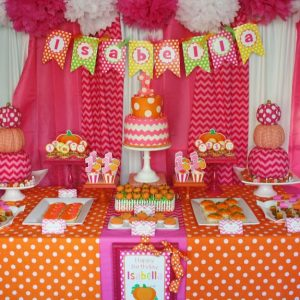Pink pumpkin theme