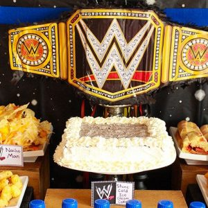 Wrestling Theme Party